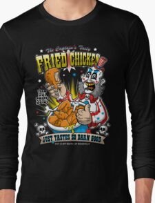 Tasty Fried Chicken Long Sleeve T-Shirt