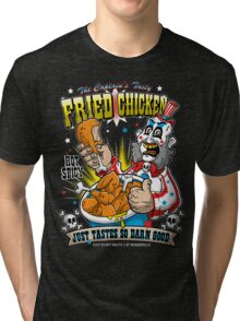 Tasty Fried Chicken Tri-blend T-Shirt