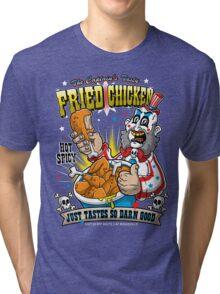 Tasty Fried Chicken Tri-blend T-Shirt