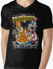 Tasty Fried Chicken Mens V-Neck T-Shirt