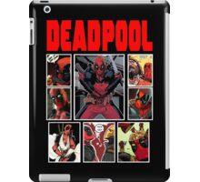 Deadpool Comic Strip Design iPad Case/Skin