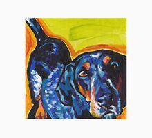 Bluetick Coonhound Dog Bright colorful pop dog art T-Shirt