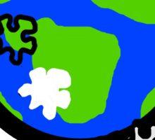 Puzzle Earth  Sticker