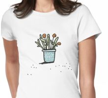 Pretty Plant 2 Womens Fitted T-Shirt