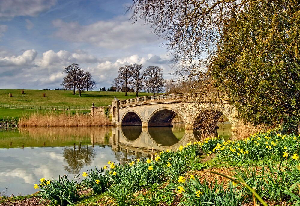 Spring at compton Verney by gollum1985