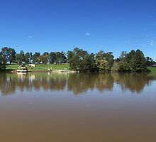 Nepean River NSW Australia by GeorgeOne