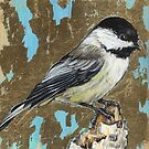 bird 2 - Black capped Chickadee by Joe Helms