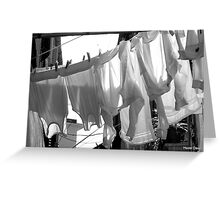 Laundry Day Greeting Card