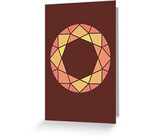 Warm Spectra Greeting Card
