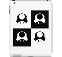 Mushroom in Black and White iPad Case/Skin