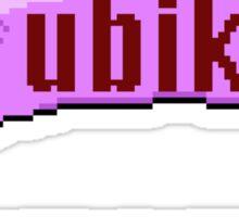 Ubik Sticker