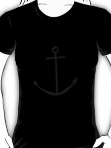 Minimal Anchor - Cool case for laptop & phone Available T-Shirt