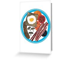 Full English Greeting Card