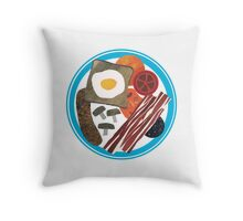 Full English Throw Pillow