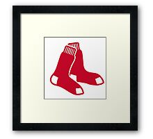 boston red sox Framed Print