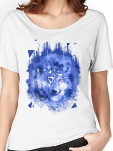 glitch wolf Women's Relaxed Fit T-Shirt