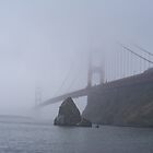 The Foggy Golden Gate by NancyC