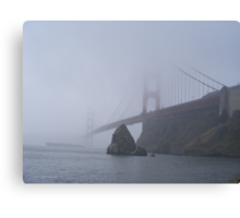 The Foggy Golden Gate Canvas Print