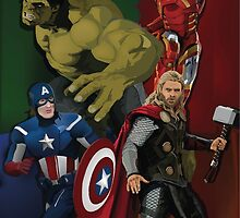 Avengers Assemble by EvanTapper