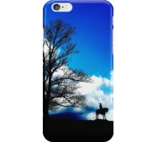 A Song of Blue and Gray iPhone Case/Skin