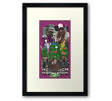 Turtle Power 25th Framed Print