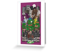 Turtle Power 25th Greeting Card