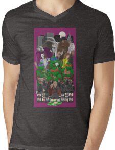 Turtle Power 25th Mens V-Neck T-Shirt