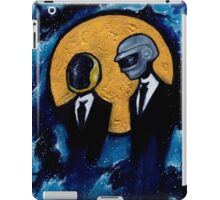 Daft Punk in Space iPad Case/Skin