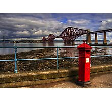 The Post Box on the Promenade Photographic Print