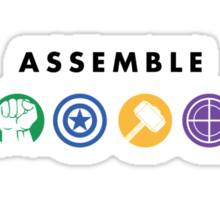 Assemble - Alternate Sticker