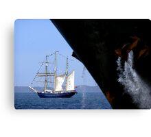 Sail And Anchor 1, Fremantle, Western Australia. Canvas Print