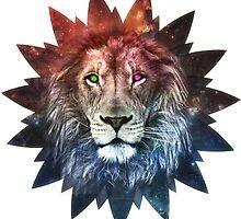 space lion by Simondam