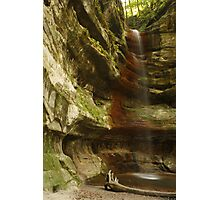 Waterfall of St. Louis Canyon Photographic Print
