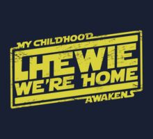 Chewie We're Home (My Childhood Awakens) - Dist yellow by coldbludd