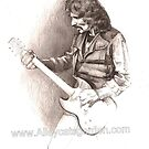 Tony Iommi by Alleycatsgarden