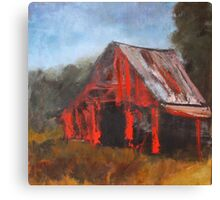 North Carolina Barn Canvas Print