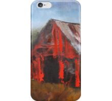 North Carolina Barn iPhone Case/Skin