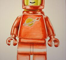 lego spaceman by Maudster