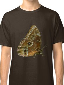Beautiful Butterfly Wings of Meadow Brown Isolated Classic T-Shirt
