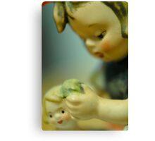 Doll Bath Canvas Print