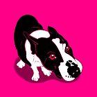 Mr Bull Terrier Pink by Sookiesooker