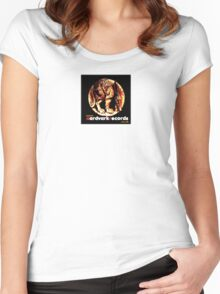 aardvark corporate t-shirt Women's Fitted Scoop T-Shirt