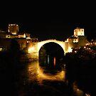 Stari Most at Night by jojobob