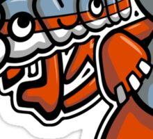 Freak Mascot Tag Sticker