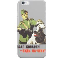 WW2 Soviet Poster iPhone Case/Skin