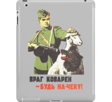 WW2 Soviet Poster iPad Case/Skin