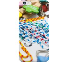 Colourful Office Tools iPhone Case/Skin