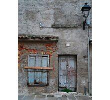 Building in Grado Photographic Print