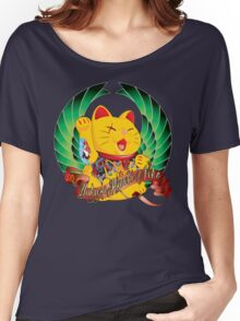 Yakuza Maneki Neko Women's Relaxed Fit T-Shirt