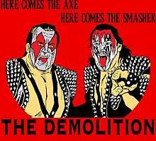 WWF Tag Team - Demolition! by TheTShirtNerd